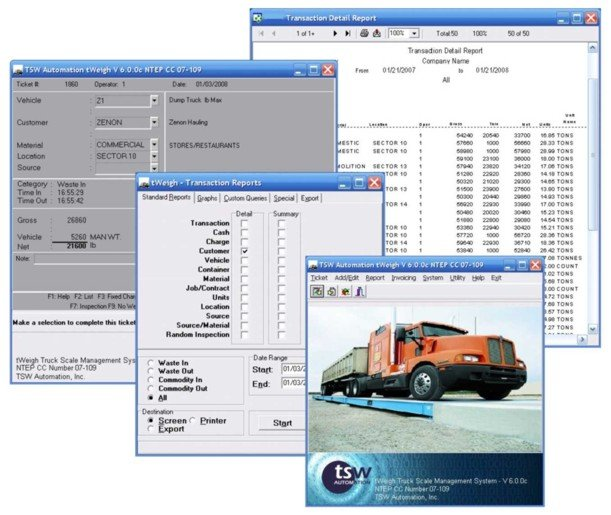 tWeigh Truck Scale Management System